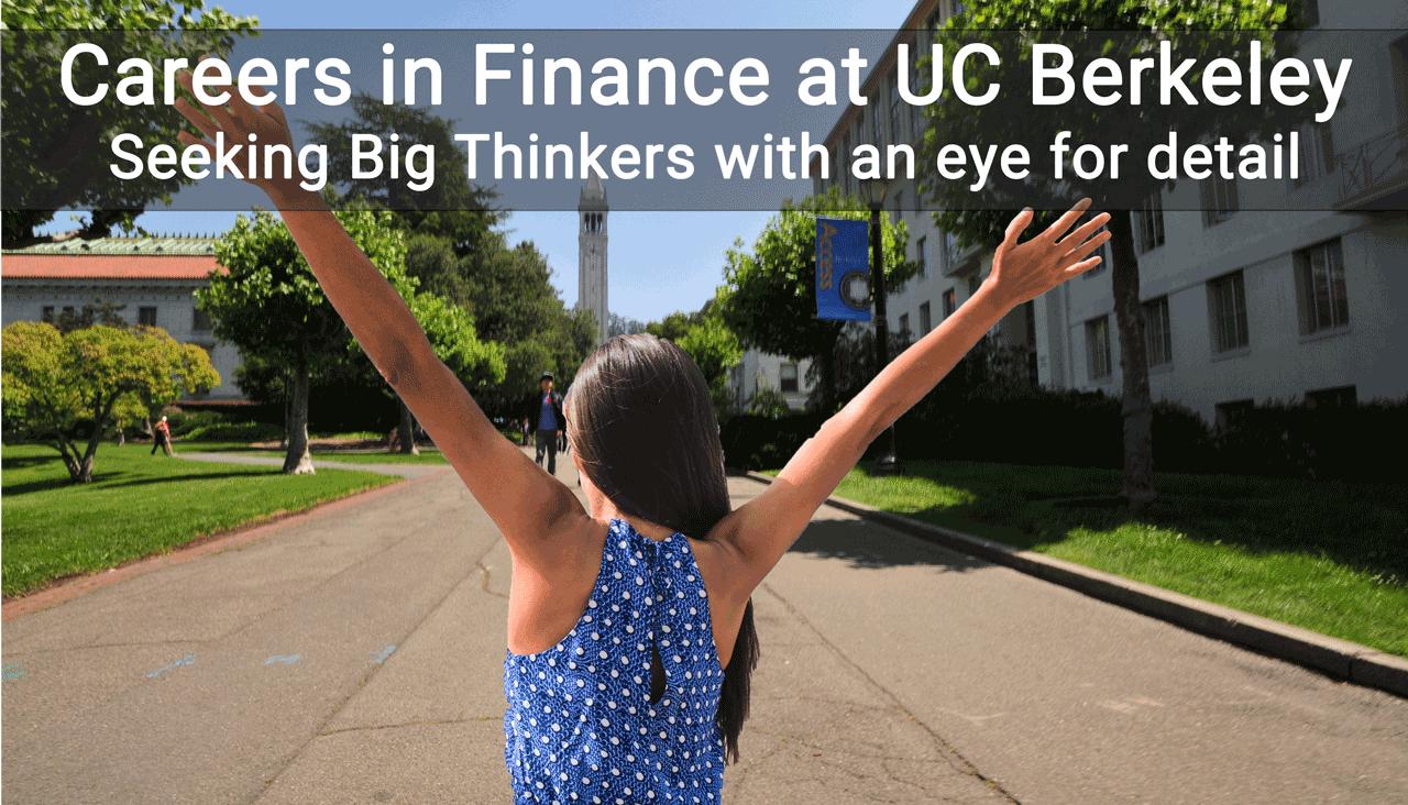 Careers in Finance at UC Berkeley