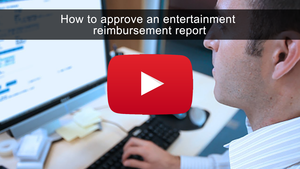 How to Approve an Entertainment Reimbursement Report
